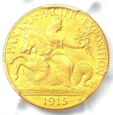1915-S Panama Pacific Gold Quarter Eagle $2.50 Coin - Certified PCGS AU Details