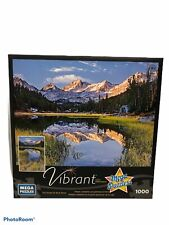 High Sierra Reflections 1000 piece puzzle by Mega Vibrant Puzzles NEW