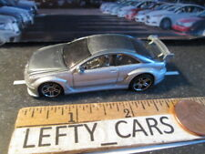 HOTWHEELS MERCEDES Silver BENZ AMG CLK DTM (Gray wing)- SCALE 1/64 - LOOSE!