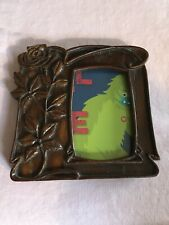 Yesteryear Picture Frames Wood Art Nouveau Style With Rose