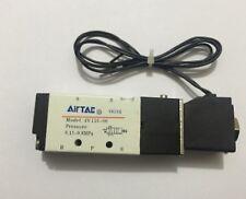 "5 Way 5 ports 1/8"" électrovanne pneumatique air control 220VAC Bobine V4V110-06"