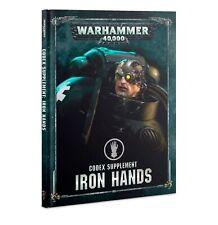 Codex: Iron Hands Space Marines Warhammer 40K Book