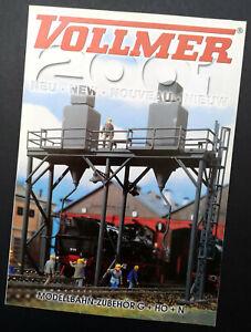 """Vollmer Prospekt """"Neu 2001"""", DIN A4, 12 Seiten, Neu!"""