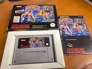 Saturday Night Slammasters Slam Masters Snes Super Nintendo Boxed PAL CIB