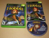 The Hobbit for Microsoft Xbox Complete Fast Shipping