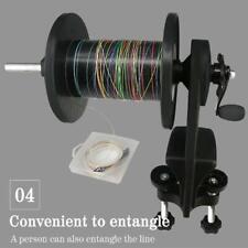 Fishing Line Spooler Winder System Spooling Machine Spinning Reel Line Winder AU