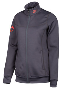 New Women's Klim Sundance Jacket ~ Gray/Knockout Pink ~ L ~ # 3146-005-140-600