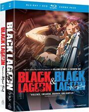 Black Lagoon Complete Series Seasons 1 & 2 + OVA Anime DVD+Blu-ray Bundle R1
