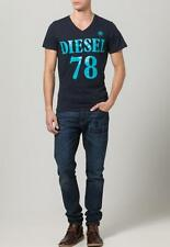 NWT Diesel Men TShirt Diesel T- MELBA 81E Navy Cotton T-Shirt all Sizes RRP50
