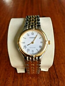 TISSOT STYLIST Two-tone Ladies Watch