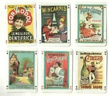 Collectible Playing cards. Le Vieux Pain Vieux Pain ( old bread )advertising
