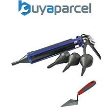 """Faithfull Pointing Grouting Mortar Cement Gun and 5"""" Pointing Trowel FAIPOINTING"""