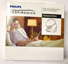 New Respironics Amara View Headgear Replacement Standard Size Part 1090697