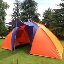 4 person Raining season Outdoor adventure snow Winter 2 Rooms camping Tent