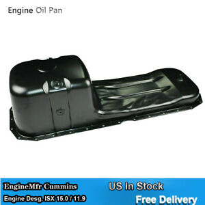 Front Sump Engine Oil Pan for Engine Desg. ISX 15.0 11.9 3679945 4952540 3680531