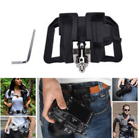 """1/4"""" Screw Camera Waist Spider Belt Holster Quick  Buckle Dull for Camera RR"""