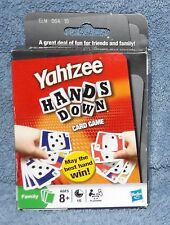 YAHTZEE HANDS DOWN CARD GAME AGES 8+
