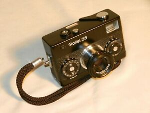 Rollei 35mm Camera with Tessar 3.5/40 mm Lens