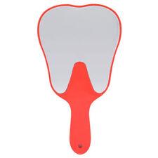 Plastic Cute Handle Dental Mirror Unbreakable Magnifying Hand Tooth Molar Mirror