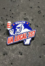 UA PLUMBERS PIPEFITTERS STEAMFITTERS  UNION LOCAL 787 Lapel Pin