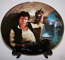 Star Wars Plate Han Solo Empire Strikes Back Movies