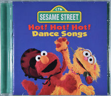 Hot! Hot! Hot! Dance Songs by Sesame Street [Canada - Sony Wonder 1997] - MINT