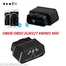ELM327 OBDII OBD2 KW903 WiFi Car Fault Code Reader Bluetooth Diagnostic Scanner