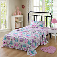 Bed Sheets for Kids Twin Sheets for Kids Girls Boys Kids Bedding Bunk Beds Set