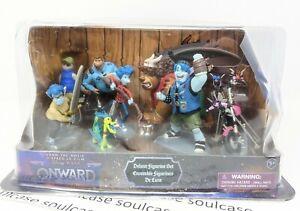 New Disney Exclusive Pixar Onward Deluxe Figurine Set 8 piece