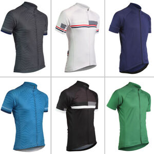 Mens Cycling Jerseys Short Sleeve Outdoor Sports Jersey Man Women