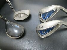 JUNIOR NIKE 4 club SET PW, MID IRON, PUTTER, 3 WOOD Right Hand Golf Clubs