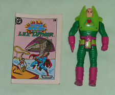 vintage Kenner Super Powers LEX LUTHOR with comic