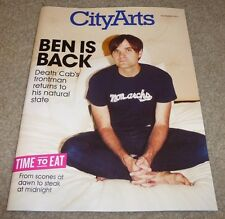 BENJAMIN BEN GIBBARD CITY ARTS MAGAZINE NOVEMBER 2012 DEATH CAB FOR CUTIE