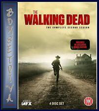 THE WALKING DEAD- COMPLETE SEASON 2 - SECOND SEASON ***BRAND NEW DVD***