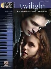 Piano Duo Play-Along Twilight apprendre à jouer Bella's Lullaby MUSIC BOOK & CD