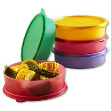TUPPERWARE LARGE HANDY BOWLS / CONTAINERS/CHAPPATI BOWLS  (SET OF 5)