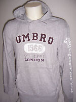 SWEAT à Capuche neuf Umbro adulte Dodge taille M ou L ou XL coloris gris chiné