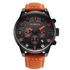 Orologio da uomo cronografo ochstin nero arancione 46 mm DATA SPORTIVO NUOVO