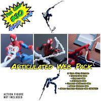 Marvel Legends Spiderman Web Bundle Pack