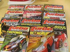 Turbo & High-Tech Performance Magazine 2005 - 11 issues (January-November)