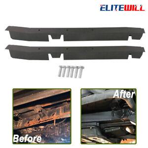 2pcs Driver & Passenger Center Skid Frame Repair for Jeep Wrangler TJ 1997-2002