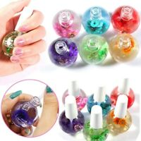 15ml Dried Flowers Nail Oil For Treatment Nail Polish Gel Cuticle Revitalizer