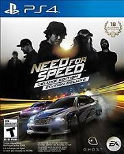 Need for Speed: Deluxe Edition (Sony PlayStation 4, 2015)