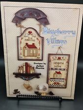 New ListingVintage 1988 Tole Painting Book: Blueberry Village by Juliet Martin
