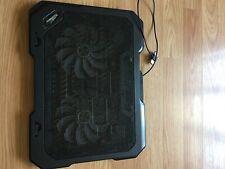 Topmate Laptop Cooling Pad/Black/2 Fans