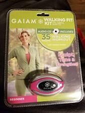 GAIAM PEDOMETER WALKING FIT KIT  *New In Package*