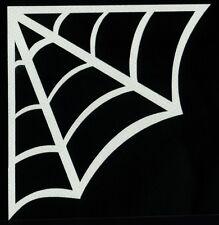Corner Spider Web Vinyl Decal Sticker Car Truck Window