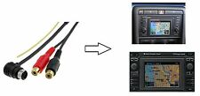 Aux-in Adapter - RCA CINCH FOR AUDI RNS-D VW MFD 1