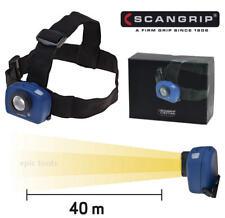 SCANGRIP Sensor 1w CREE XP-E Foco ondulado, manos libres LED 40m inundación