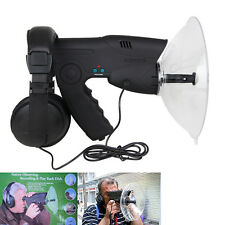 Parabolic Microphone Monocular Bionic Ear Birds Spy Listening Device UP To 300FT